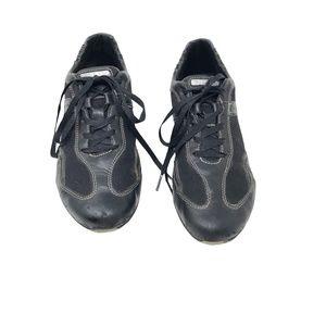 GEOX Respira Ta Blau Sneakers Black Women's 9